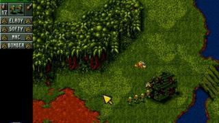 Скриншот Cannon Fodder