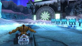 Скриншоты  игры Ben 10: Galactic Racing