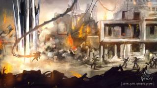 Скриншоты  игры The War of the Worlds