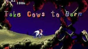 миниатюра скриншота Earthworm Jim 2