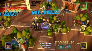 Скриншоты  игры Fable Heroes