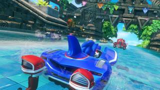 Скриншоты  игры Sonic & All-Stars Racing Transformed