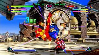 Скриншоты  игры Marvel vs. Capcom 2: New Age of Heroes