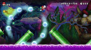Скриншот New Super Mario Bros. U