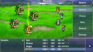 миниатюра скриншота Final Fantasy Dimensions