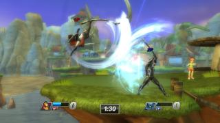 Скриншоты  игры PlayStation All-Stars: Battle Royale