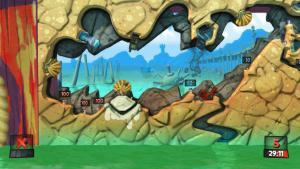 миниатюра скриншота Worms Revolution