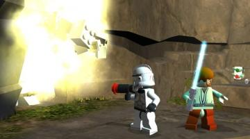 Скриншот LEGO Star Wars: The Video Game