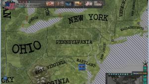 миниатюра скриншота East vs. West: A Hearts of Iron Game