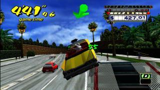 Скриншоты  игры Crazy Taxi