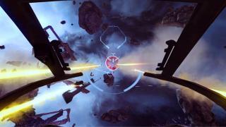 Скриншоты  игры EVE: Valkyrie