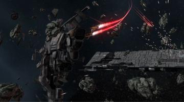 Скриншот EVE: Valkyrie