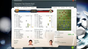Скриншот FIFA Manager 14