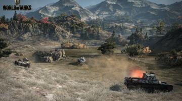 Скриншот World of Tanks