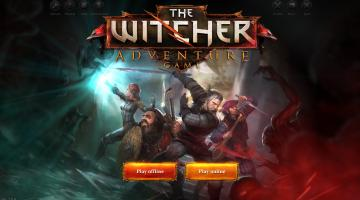 Скриншот Witcher Adventure Game, the