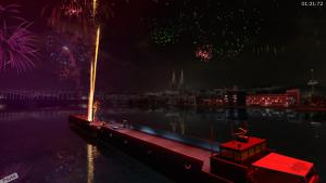 миниатюра скриншота Fireworks Simulator