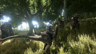 Скриншоты  игры ARK: Survival Evolved