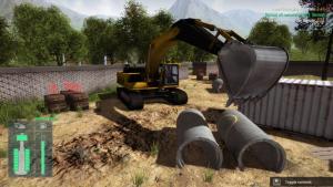 миниатюра скриншота Construction Machines Simulator 2016