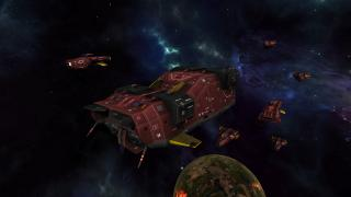 Скриншоты  игры Nomad Fleet
