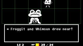Скриншот Undertale