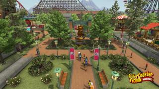 Скриншот RollerCoaster Tycoon World