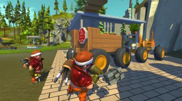 Скриншот Scrap Mechanic