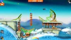 миниатюра скриншота Bridge Constructor Stunts