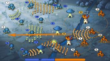 Скриншот Mushroom Wars