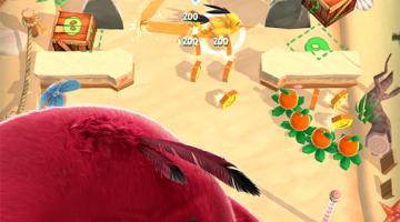 Скриншот Angry Birds Action!