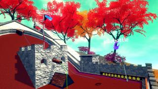Скриншоты  игры Cloudlands : VR Minigolf