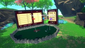 миниатюра скриншота Cloudlands : VR Minigolf