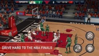 Скриншот NBA Live Mobile