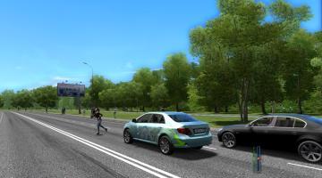 Скриншот City Car Driving