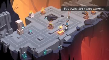 Скриншот Lara Croft GO