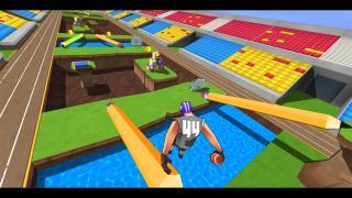 Скриншоты  игры FootRock VR