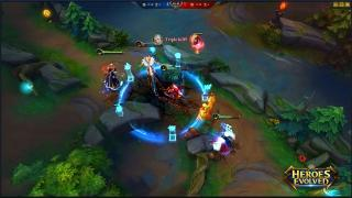 Скриншоты  игры Heroes Evolved