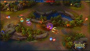 миниатюра скриншота Heroes Evolved