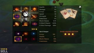 Скриншоты  игры Reaper: Tale of a Pale Swordsman