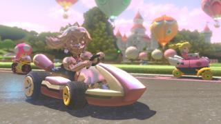 Скриншот Mario Kart 8