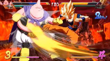 Скриншот Dragon Ball FighterZ