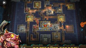 Скриншот Dungeon Keeper Mobile