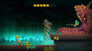 Скриншоты  игры Nidhogg 2