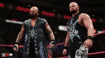Скриншот WWE 2K18