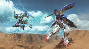 Скриншот Gundam Versus