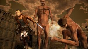 миниатюра скриншота Attack on Titan 2