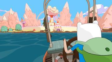 Скриншот Adventure Time: Pirates of the Enchiridion