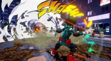 Скриншот My Hero One's Justice
