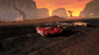 Скриншоты  игры Dark Future: Blood Red States