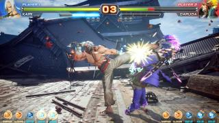 Скриншоты  игры Fighting EX Layer