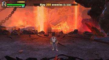 Скриншот Shaq Fu: A Legend Reborn